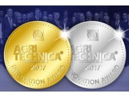 Innovation Award Agritechnica 2017